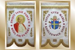 09b chorągiew Jan Paweł II