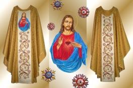 09b ornat_Serce Jezusa