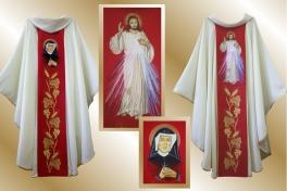 11 ornat_Jezus Miłosierny + Faustyna