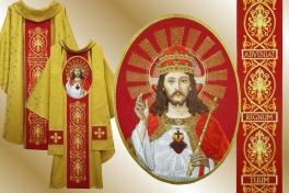 13a ornat Chrystus Król