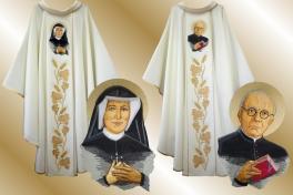 19 ornat _św. Faustyna+św. Sopoćko 1