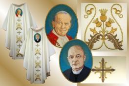 21 ornat bł.Bukowiński+ Jan Paweł II