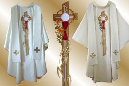 01a2 ornat_eucharystyczny z krzyżem (biały)